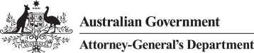 Australian Government - Attorney-General's Department