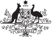 Australian Dept. Jobs Government logo